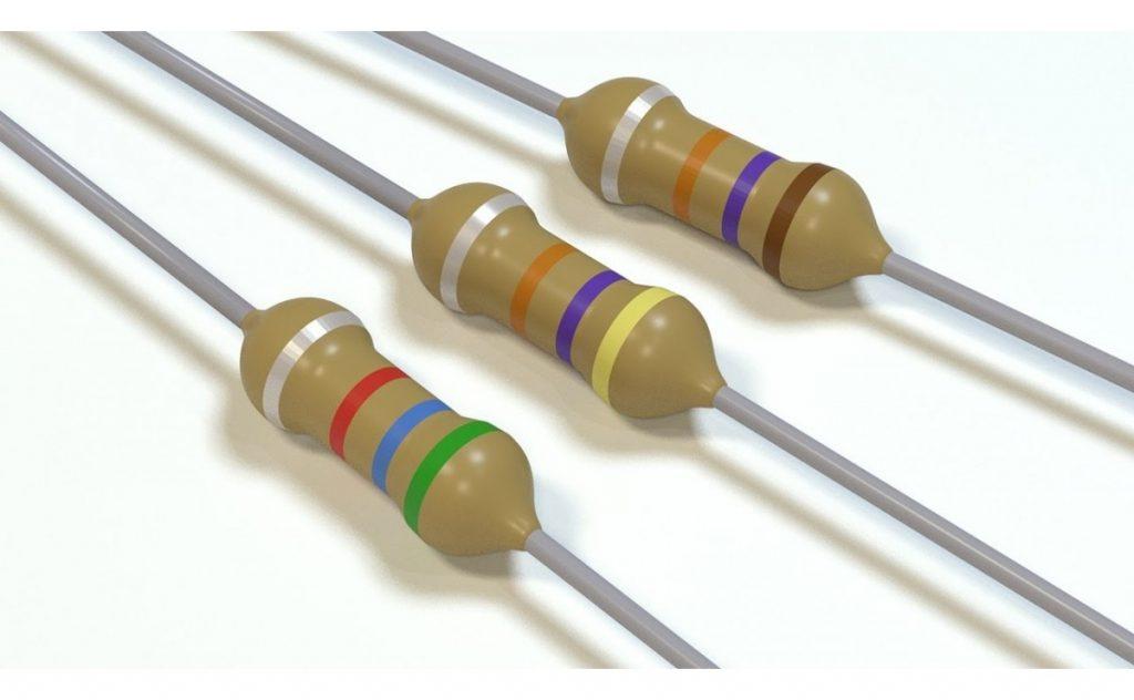 انواع مقاومت در تعمیرات تابلو ال ای دی ثابت
