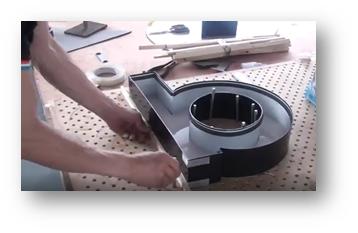 ساخت تابلو چلنیوم با ثابت کردن بر روی میز کار